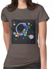 Wassily Kandinsky - Several Circles 1926  Womens Fitted T-Shirt
