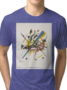 Wassily Kandinsky - On White Ii 1923  Tri-blend T-Shirt