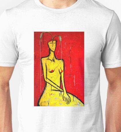 Grey Matters - Portrait 1 Unisex T-Shirt