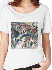Wassily Kandinsky - Improvisation 28 Second Version 1912  Women's Relaxed Fit T-Shirt