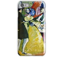 Wassily Kandinsky - Group In Crinolines  iPhone Case/Skin