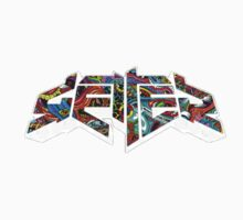 Getter psychedelic  One Piece - Long Sleeve