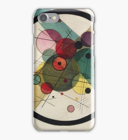 Wassily Kandinsky - Circles In A Circle 1923  iPhone Case/Skin