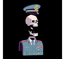 captain skull Photographic Print