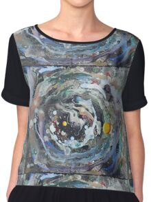 Psychedelic Space 1 Chiffon Top