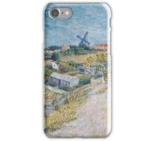 Vincent Van Gogh - Vegetable Gardens In Montmartre, 1887 iPhone Case/Skin