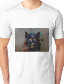 cat milky way Unisex T-Shirt