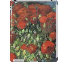 Vincent Van Gogh - Vase With Red Poppies, 1886 iPad Case/Skin