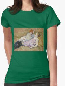 Henri De Toulouse Lautrec The Sofa 1896  Womens Fitted T-Shirt