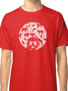 Retro animals Classic T-Shirt