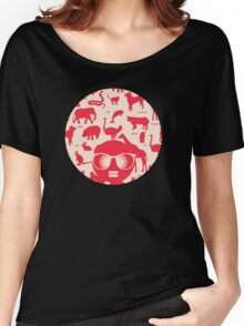 Retro animals Women's Relaxed Fit T-Shirt