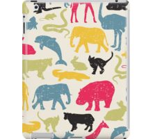 Retro animals iPad Case/Skin