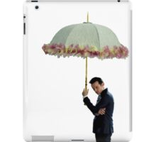 moriarty with umbrella iPad Case/Skin