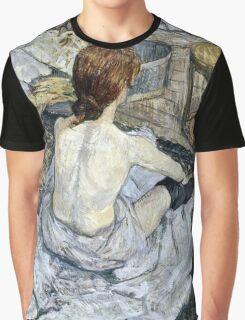 Henri de Toulouse Lautrec -  Rousse (1889)  Graphic T-Shirt