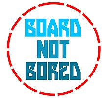 Board not bored Photographic Print