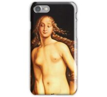 Hans Baldung Grien - Eve (1525)  iPhone Case/Skin