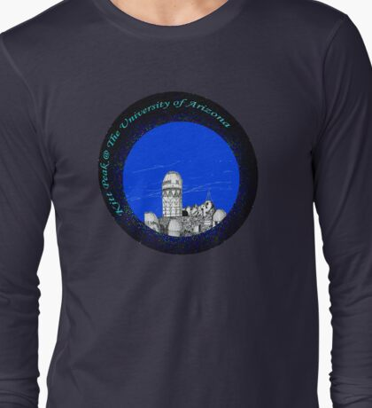 telescopes on top of Kitt Peak Arizona Long Sleeve T-Shirt