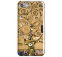 Gustav Klimt - The Tree Of Life, 1909 iPhone Case/Skin