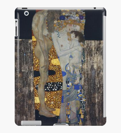 Gustav Klimt - The Three Ages Of Woman Gustav Klimt iPad Case/Skin