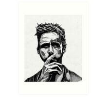 Ryan Gosling Drives Art Print