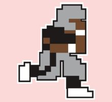 Nintendo Tecmo Bowl Oakland Raiders Bo Jackson One Piece - Short Sleeve