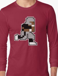 Nintendo Tecmo Bowl Oakland Raiders Bo Jackson Long Sleeve T-Shirt