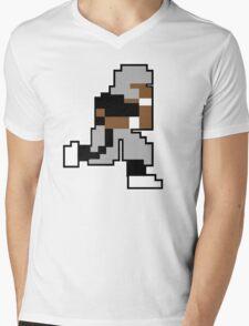 Nintendo Tecmo Bowl Oakland Raiders Bo Jackson Mens V-Neck T-Shirt
