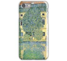 Gustav Klimt - The Schloss Kammer On The Attersee Iii  iPhone Case/Skin
