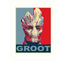 Groot Hope Art Print