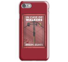In Case Of Walkers iPhone Case/Skin