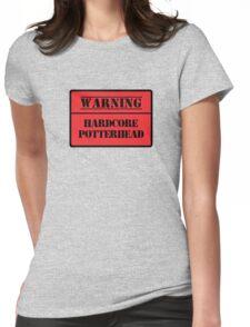 Hardcore Potterhead Womens Fitted T-Shirt