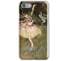 Edgar Degas - The Star ( 1876 1878)  iPhone Case/Skin