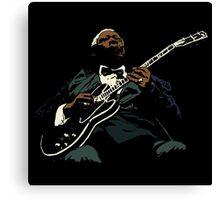 guitar king Canvas Print