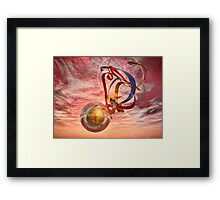 On The Sunday Of Life Framed Print