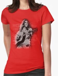 guitar player Womens Fitted T-Shirt