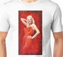 Jayne Mansfield Hollywood Actress and Pinup Unisex T-Shirt