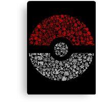 Pokéball Pokémon Canvas Print