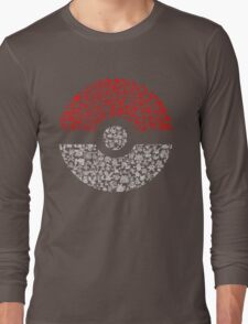 Pokéball Pokémon Long Sleeve T-Shirt