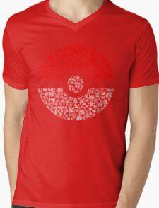 Pokéball Pokémon Mens V-Neck T-Shirt