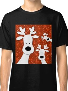 Christmas reindeer - red 2 Classic T-Shirt