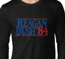 Reagan and bush 84 Long Sleeve T-Shirt