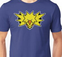 Super Cute Legendary Bird - Team Yellow Unisex T-Shirt