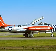 Lockheed T-33A 51-8566 G-TJET by Colin Smedley