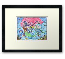 Mystery of the Sea Framed Print