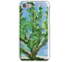 Potted Succulent painting iPhone Case/Skin