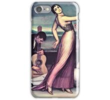 Julio Romero de Torres - Flamenco songs and dances (1917)  iPhone Case/Skin