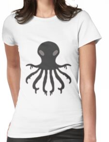 Inky The Octopus Womens Fitted T-Shirt