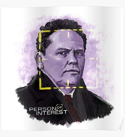 The Fusco (Person of Interest) Poster