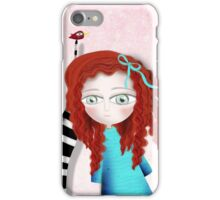 Pink Fun Whimsical Day Paris iPhone Case/Skin