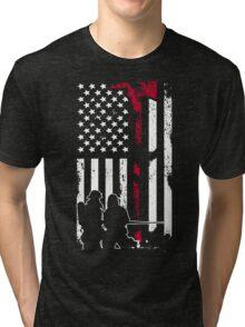 Firefighter - Fireman clothing Tri-blend T-Shirt